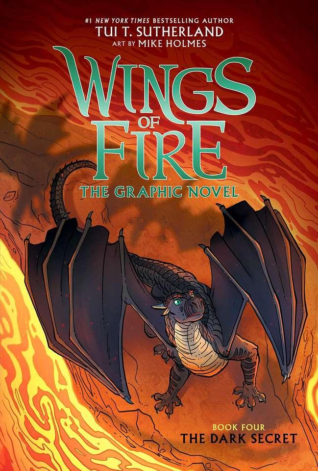 Romanul grafic secret întunecat - O carte engleză a dragonilor (8×12)