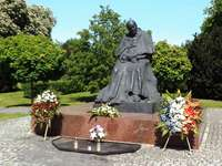 Monument of John Paul II in Toruń