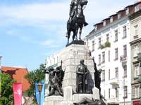Grunwald Monument in Krakow