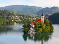 Ilha de Bled St Martin Croácia