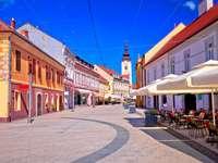 Ville de Cakovec en Croatie