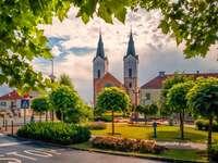 Miasto Cazma w Chorwacji