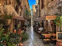 Cerna Stadt in Kroatien
