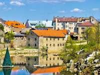 Ville Gospic en Croatie