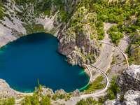 Imotski-kráter-tó, Horvátország