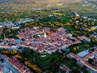Město Karlovac v Chorvatsku