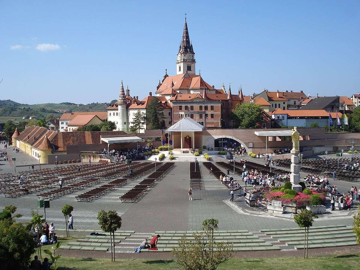 Χώρος προσκυνήματος Marija Bistrica Κροατία (14×11)