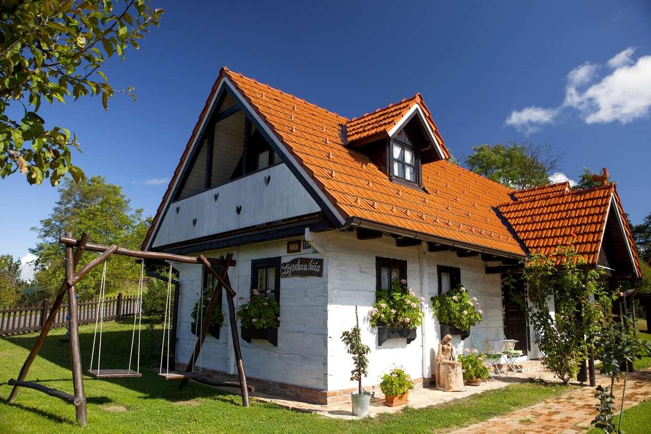 Medimurje Krásný dům Chorvatsko (16×11)