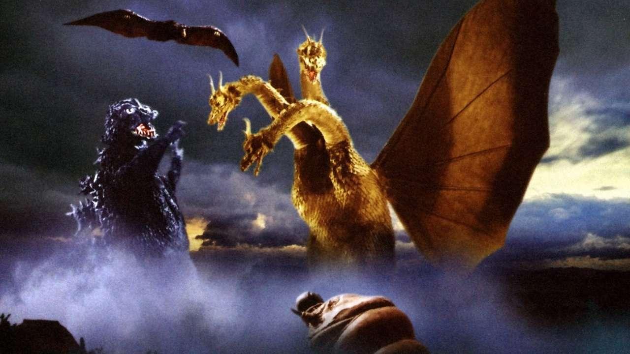 Godzilla e Ghidorah - Godzilla e Ghidorah combattono (5×3)