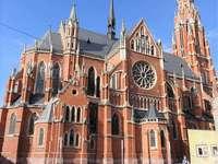 Eszék neogótikus templom Szent Péter Horvátország