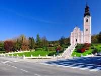 Pakrac templom Horvátországban