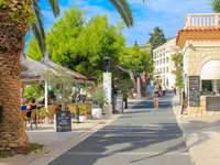 Podgora stad i Kroatien