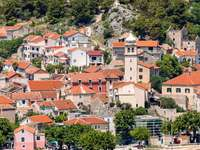 Skradin city in Croatia