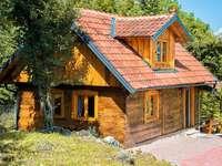Slunj εξοχική κατοικία Κροατία