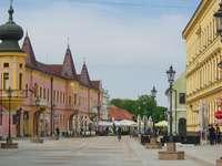 Πόλη Vinkovci στην Κροατία