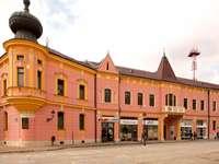 Cidade Vinkovci na Croácia