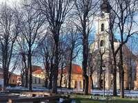 Vinkovci város Horvátországban