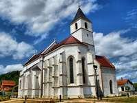 Vocin kostel Panny Marie Chorvatsko