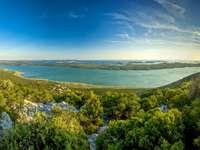 Vrana-meer in Kroatië