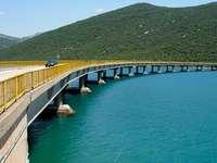 Zaton Doli Bridge Kroatië