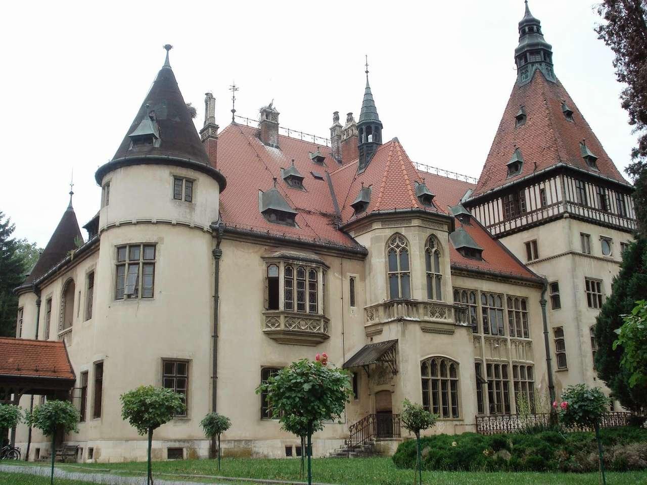 Замъкът Mailath Хърватия (14×11)