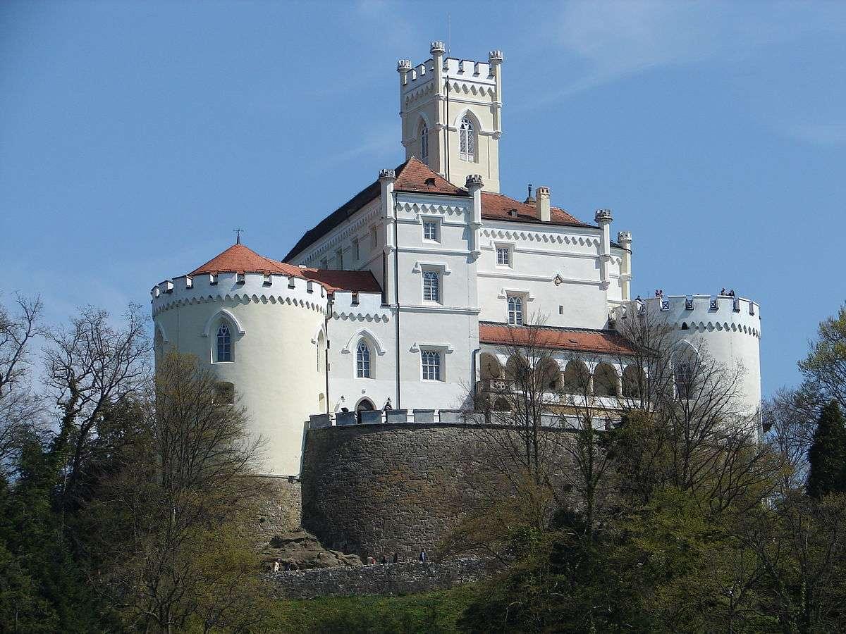 Zamek Trakoscan Chorwacja (14×11)