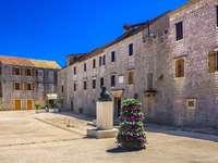 Κάστρο Tvrdalj Κροατία