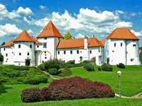 Varazdin-kastély Horvátországban