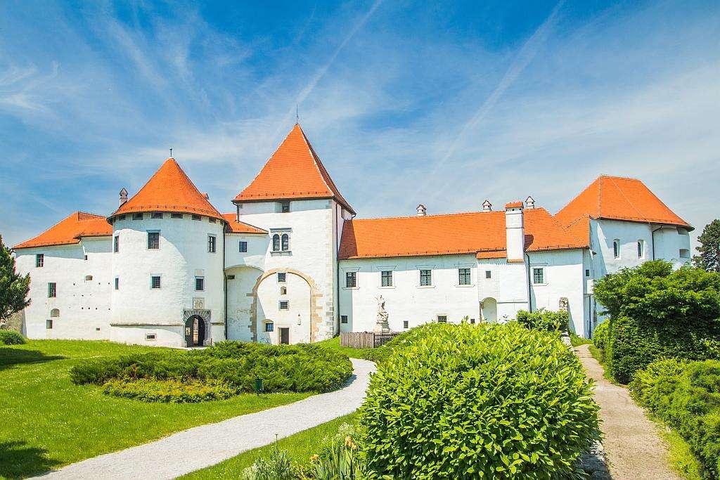 Varazdin Castle Kroatië online puzzel