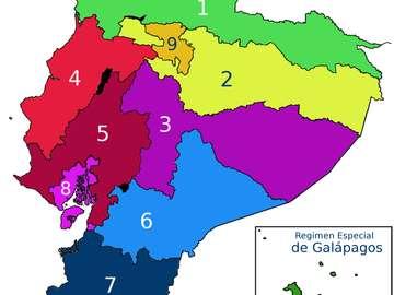 zona administrativa do equador