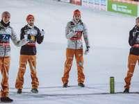 German ski jumpers