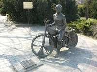 Monumento a Edward Jancarz em Gorzów Wielkopolski