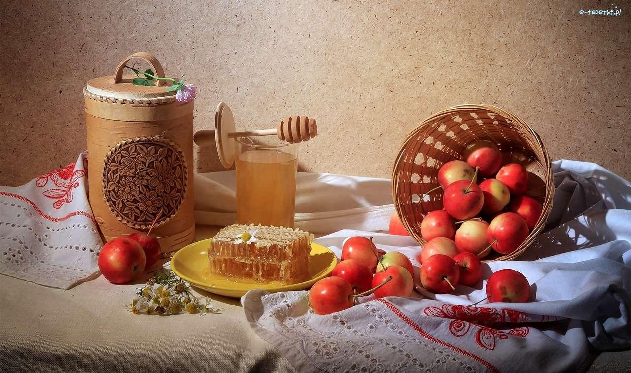 miel, manzanas - m (15×9)