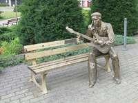 Пейката на Джими Хендрикс в Dąbrowa Górnicza