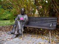 Monument till Fr. Jan Twardowski