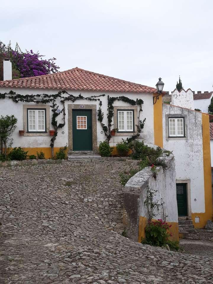 posada do obidos - малкият замък, добре запазен (9×12)