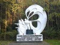 Паметник на парашутисти близо до Соколов