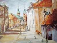 Gniezno, frammento. strade