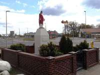 Jézus Szíve emlékmű Toruńban