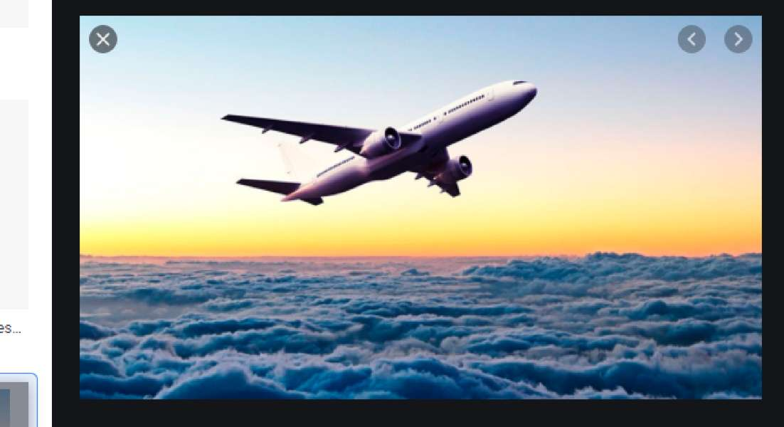 Take-off - Airplane taking off quietly in brigadeiro sky (12×7)