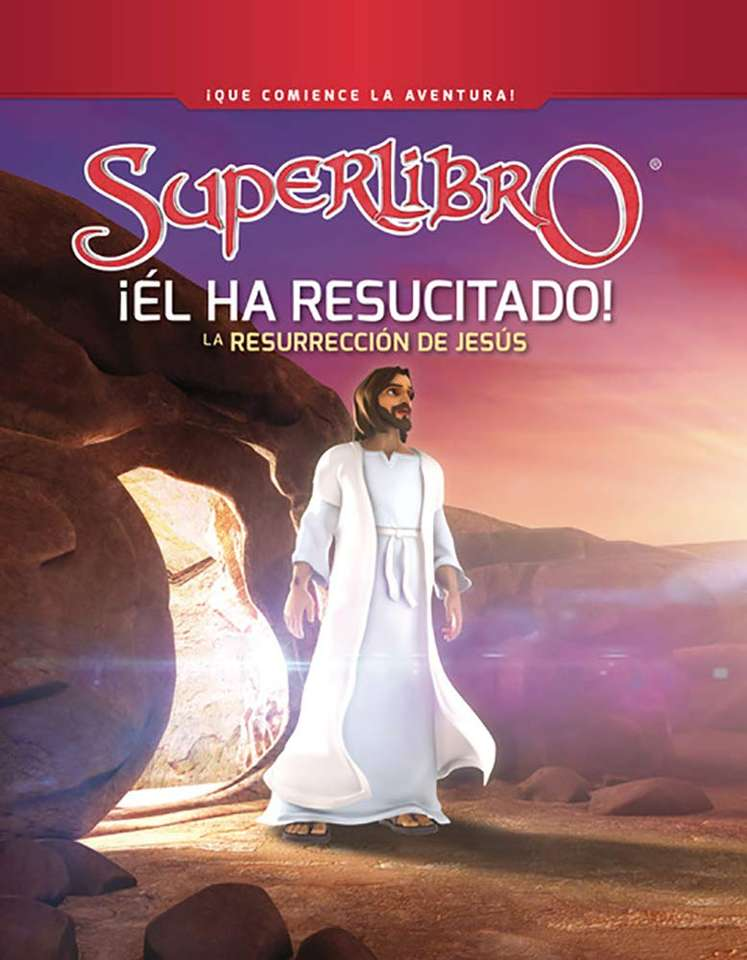 THE RESURRECTION - Puzzle for children about the resurrection of Jesus (3×5)