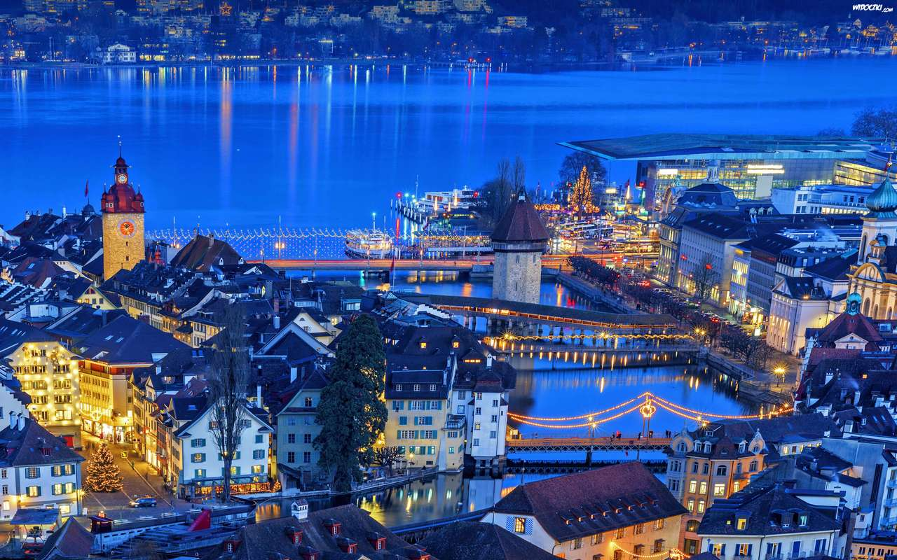λίμνη στην Ελβετία - Μ (14×9)