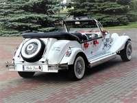 retro auto pro příležitosti