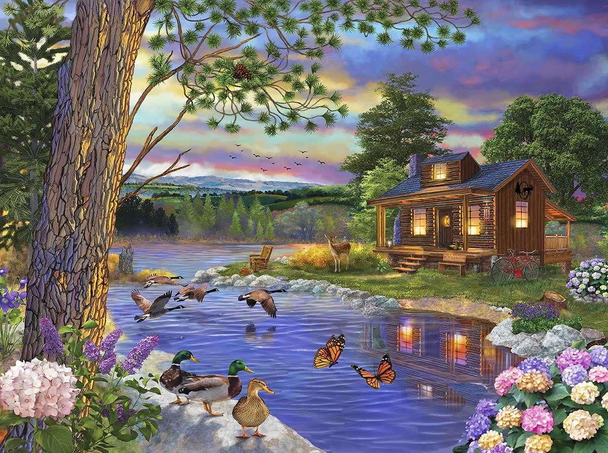 Ποταμός ειρήνης - Chris Bigelow - Ποταμός Ειρήνης (10×8)