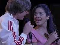 Troy Bolton a Gabriella Montez