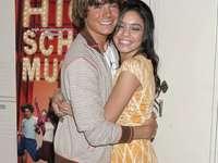 Troy Bolton et Gabriella Montez