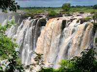 Viktoriiny vodopády - Fiumrìe Zambesi