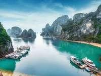 Bucht in Vietnam