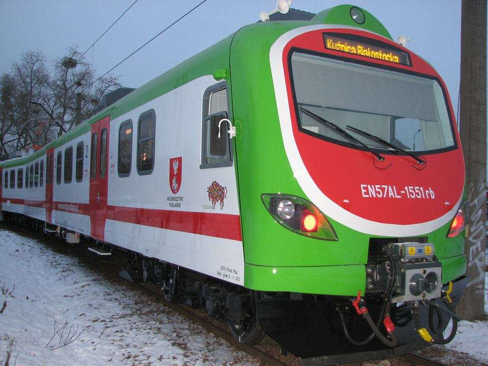 Полска железница - Полски железопътни превозни средства (13×10)