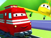 Środki transportu puzzle